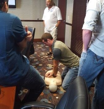 AHA Heartsaver CPR/1st Aid/AED